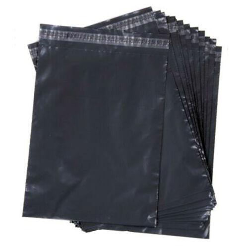 Nuevo todos los tamaños de bolsas de correo gris fuerte bolsa de Poly Postal Post Mail Sello del uno mismo