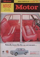 Motor magazine 31/7/1963 featuring Ford Galaxie 500 road test