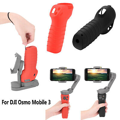 Firm Non-Slip Dust-Proof Cover Silicone Sleeve for DJI OSMO Pocket Accessories Color : Black Red Black