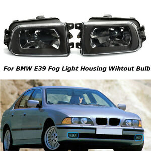 Clear-Lens-Driving-Fog-Lights-Z3-Bumper-Lamps-For-1997-2000-BMW-E39-528i-540i