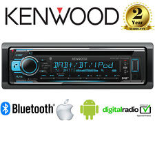 Kenwood KDC-BT710DAB auto CD MP3 Regolazione Bluetooth DAB+Stereo iPhone/Android