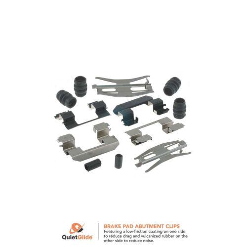 Carlson 13410Q Disc Brake Hardware Kit Front