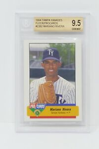 1994 Tampa Yankees Fleer Procards #2382 Mariano Rivera 🔥Beckett 9.5 GEM MINT