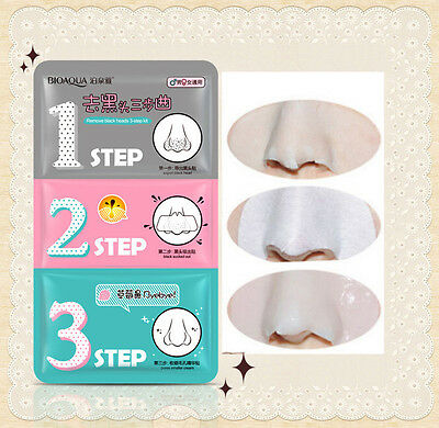 3 Step Kit Korea Trendy Cosmetic Holika Holika Pig-nose Clear Remove Black Head