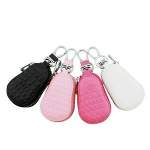 Lovely-Car-Key-Bag-High-grade-Leather-Car-Key-Case-Keychain-Accessories-Good