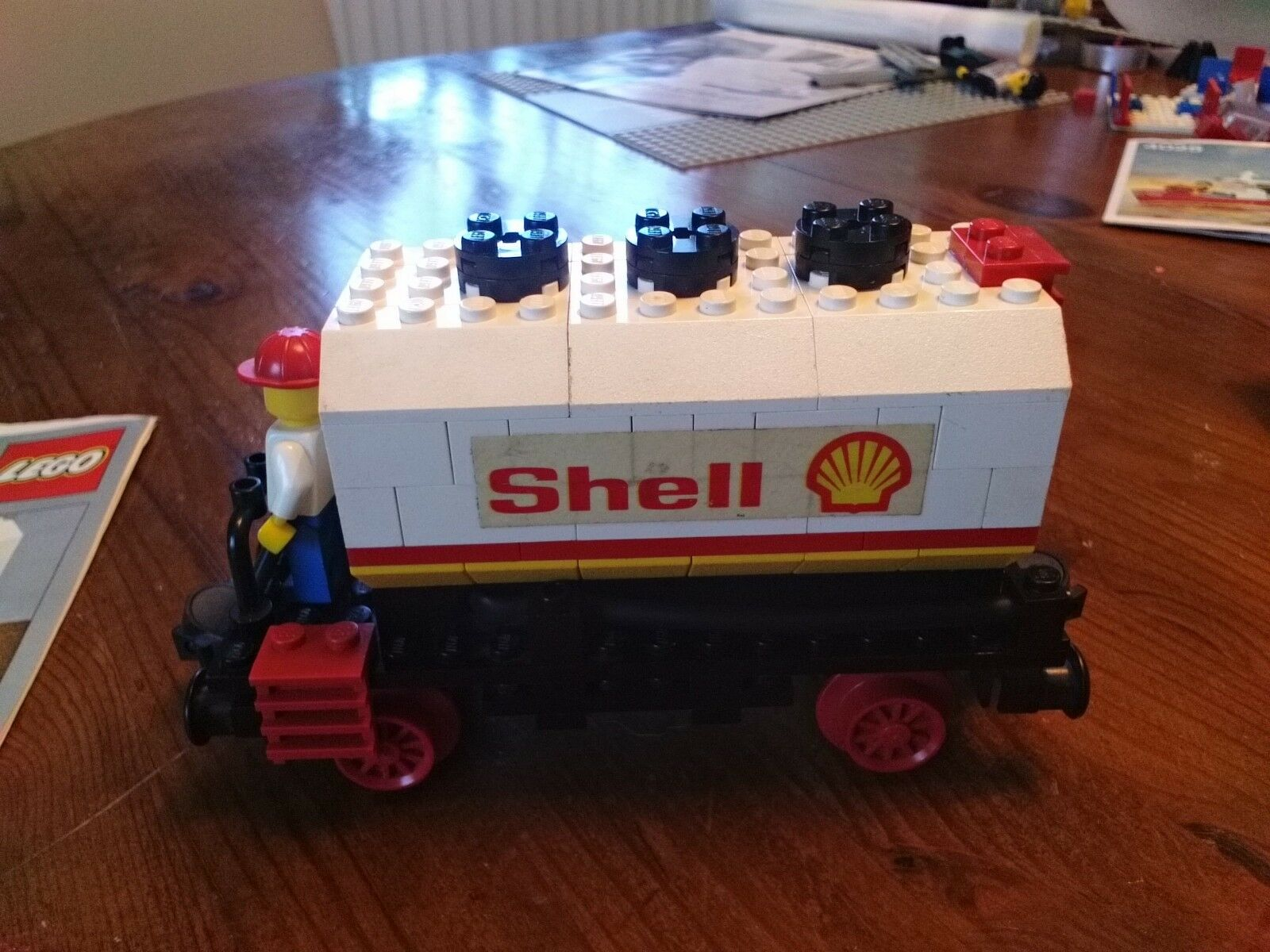 Lego Lego Lego Eisenbahn Shell Tankwaggon 7816 4cfd50