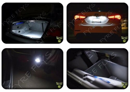 White LED interior lights package kit for 2004-08 Acura TL 9 pcs 5050 series SMD