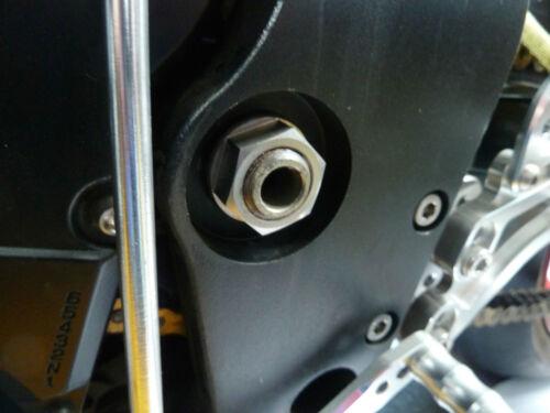Kawasaki Zx10r 2011-2019 Schwingenlager Flanschmutter Titan M20 X 1,5 R2c6