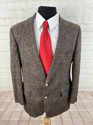 Austin Reed Men S Brown Textured Wool Blazer 42r 395 Ebay