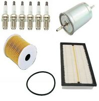 Volvo S80 99-02 L6 2.9l Dohc Basic Ignition Tune Up Kit Plugs Filter Aftermarket on Sale