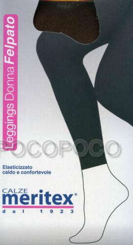 LEGGINGS ELASTICIZZATI FELPATI MERITEX ART 905