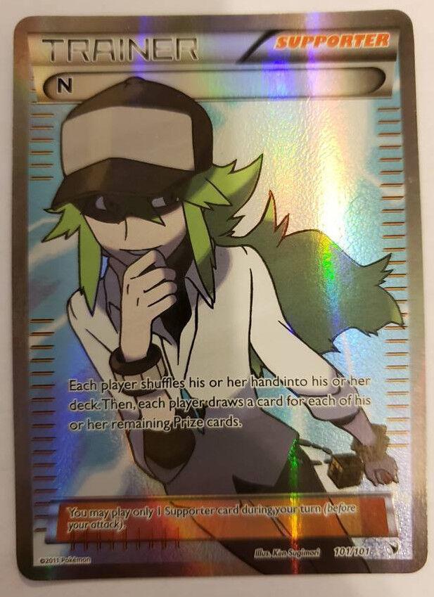 Pokémon - trainer n vollen artikel 101   101 b w edel - siege für card -