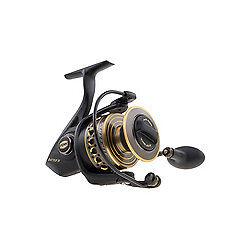 Battle II Spinning Reel 5000 Size, 5.6 1 Gear Ratio, 36   Retrieve Rate, 25 lbs