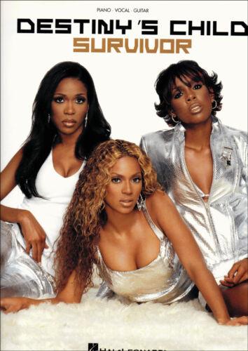 DESTINYS CHILD SURVIVOR Piano Vocal Guitar Sheet Music Book Songbook Beyonce