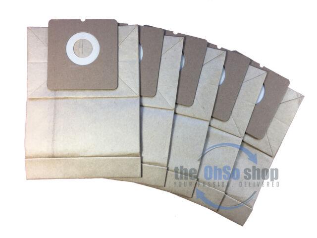 5 x E67 DUST BAGS FOR Progress PC2120 aspirateur NEUF