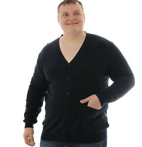 "2XL 56/""   4XL  58/""    5XL  62//64/"" Large mens big sizes   Cardigans"