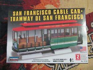 lindberg-72162-1-25-San-Francisco-Cable-Car-model-KIT-new-in-the-box