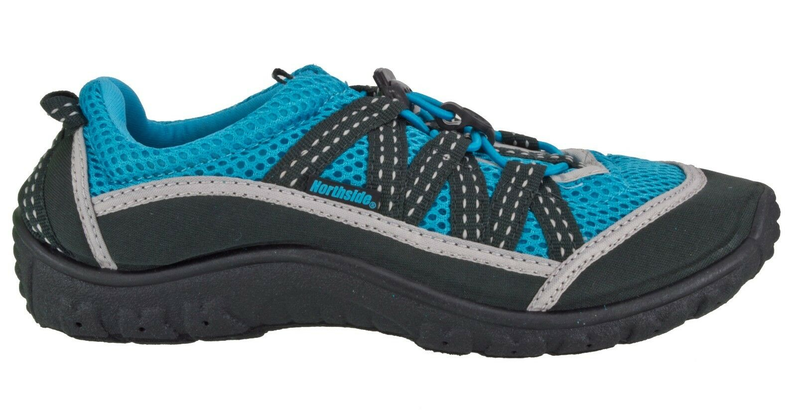 NORTHSIDE 412203K KIDS BOYS NEW BRILLE II MESH SPORT WATER SHOE AQUA SOCK