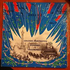 Berlioz-grande Symphonie Funebre Triomphale-lp-erato Nm