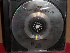 Zapp - I Play the Talk Box PROMO CD Single Rare R&B