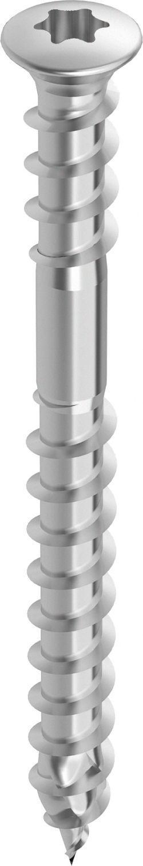 HECO-TOPIX Terrassenbelagschraube Edelstahl A2 Teilgewinde LiSeKo TX-Antrieb