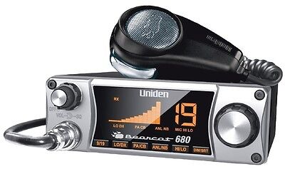 Uniden Bearcat 680 40 Channel Mobile CB Radio