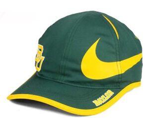 7c7c81755f49c Image is loading New-Baylor-Bears-Nike-Big-Swoosh-Adjustable-Hat-