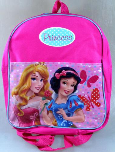 Disney Princess Schulrucksack Schulranzen rosa Backpack 30 cm Rucksack