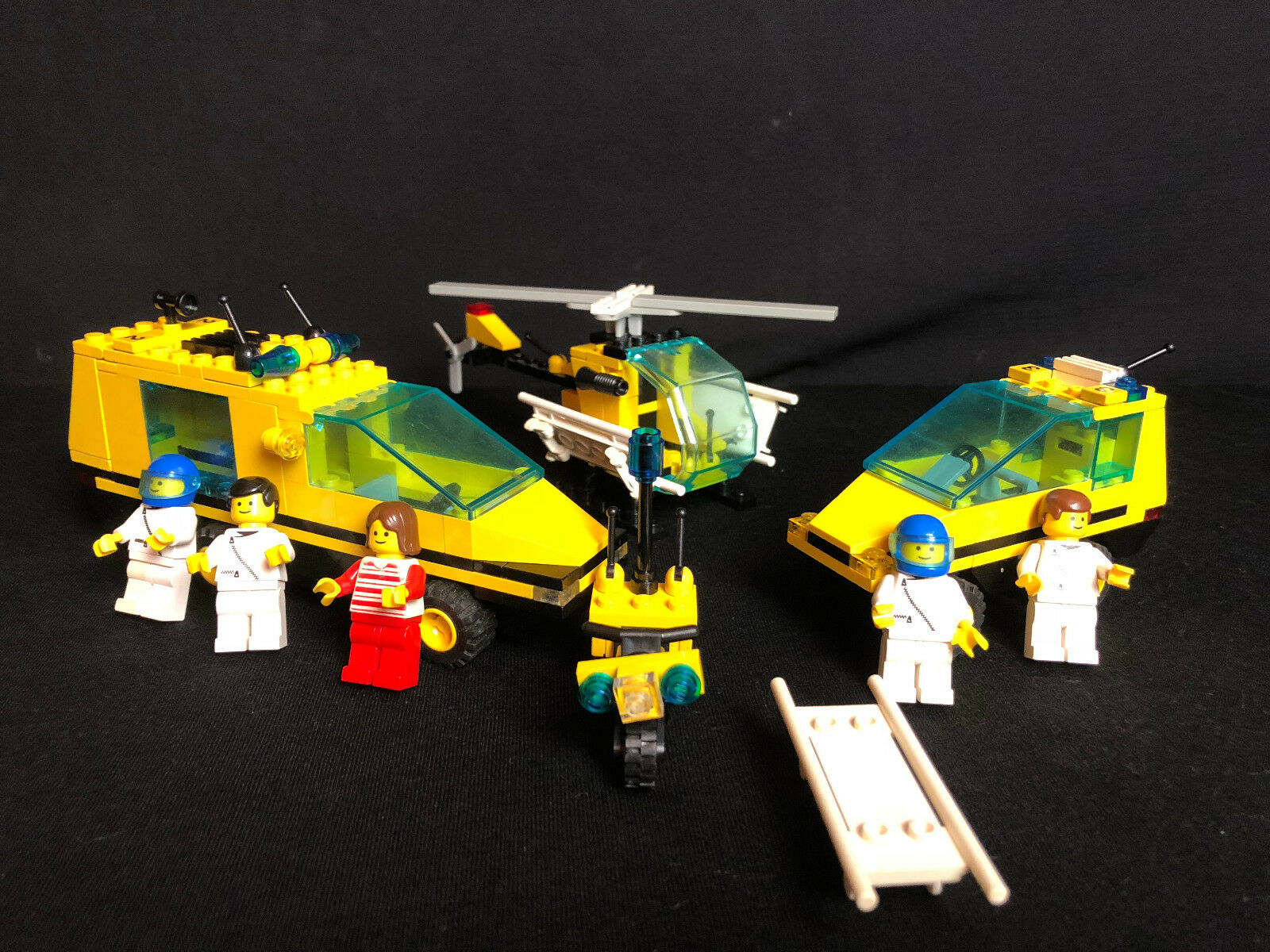 LEGO 1896 trauma team Hospital MEDEVAC Medic Rescue City complete