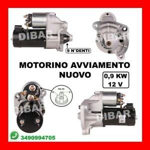 MOTORINO AVVIAMENTO PEUGEOT 206 1.6 16V