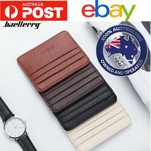 New-men-women-nurse-wallet-slim-case-opal-credit-card-id-holder-Australia
