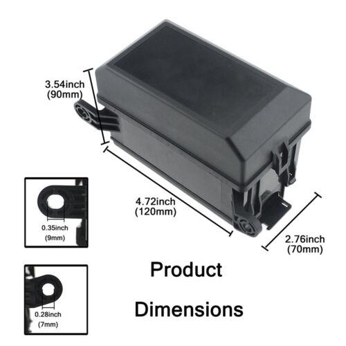 Fuse Box 6 Relay Block Holders Insurance 5 Road 6 ATC//ATO Fuses For Car ATV T2D3