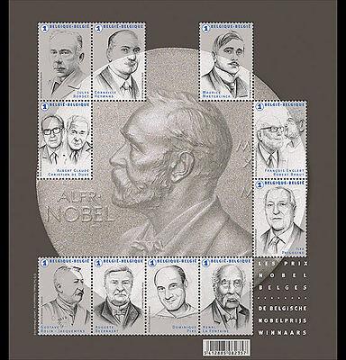 Ambitieus België / Belgium - Postfris / Mnh - Sheet Nobel Prize 2016 Superieure Materialen
