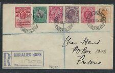 BASUTOLAND (PP0312B) 1933 REG FROM MOHALIES HOEK OFS+CAPE+NATAL+TRANSVAAL ++