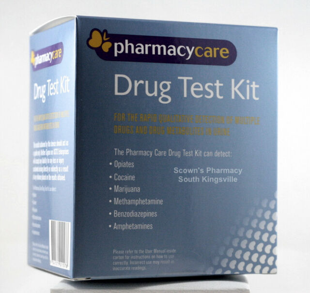 Pharmacy Care Drug Test Kit Sigma Rapid Urine Screening THC MDMA METH COC & More