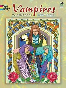 Dover Coloring Bks.: Vampires Coloring Book by Marty Noble (2010 ...