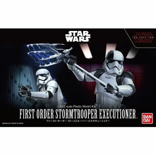 Bandai Japan*** Star Wars Model Kit 1//12 First Order Executioner The Last Jedi