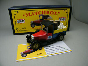 Matchbox-MoY-Code-2-YGL-41-Talbot-Umbau-Pritsche-Ladung-blaue-Box-1-von-9