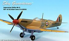 Spitfire Mk IV RAF 145SQ ZX-O/EN355 Airplane Miniature Model Metal Die-Cast 1:72