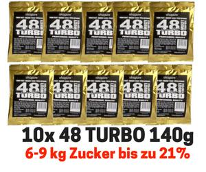 10x Turbohefe turbo yeast Alcopure 48 ExtraPure Alkohol Brennhefe Gärhefe Hefe