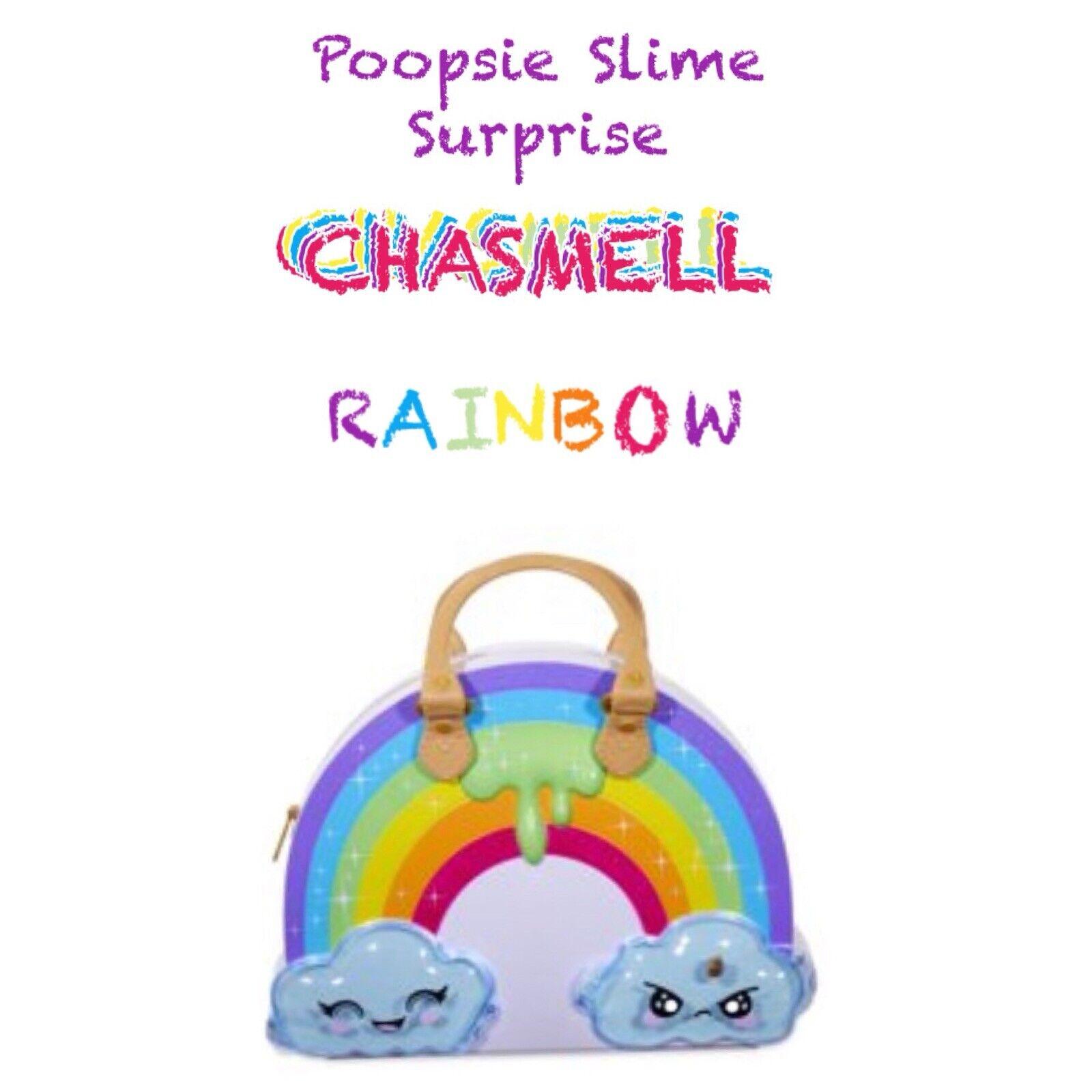 Poopsie Regenbogen Überraschung Chasmell Puppe Set Geldbörse Spielset Make Up