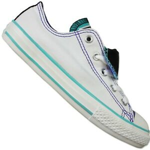 Taylor Star Converse Mandrin All Tongue Chaussures A Baskets Double Blanc RY5wS45q