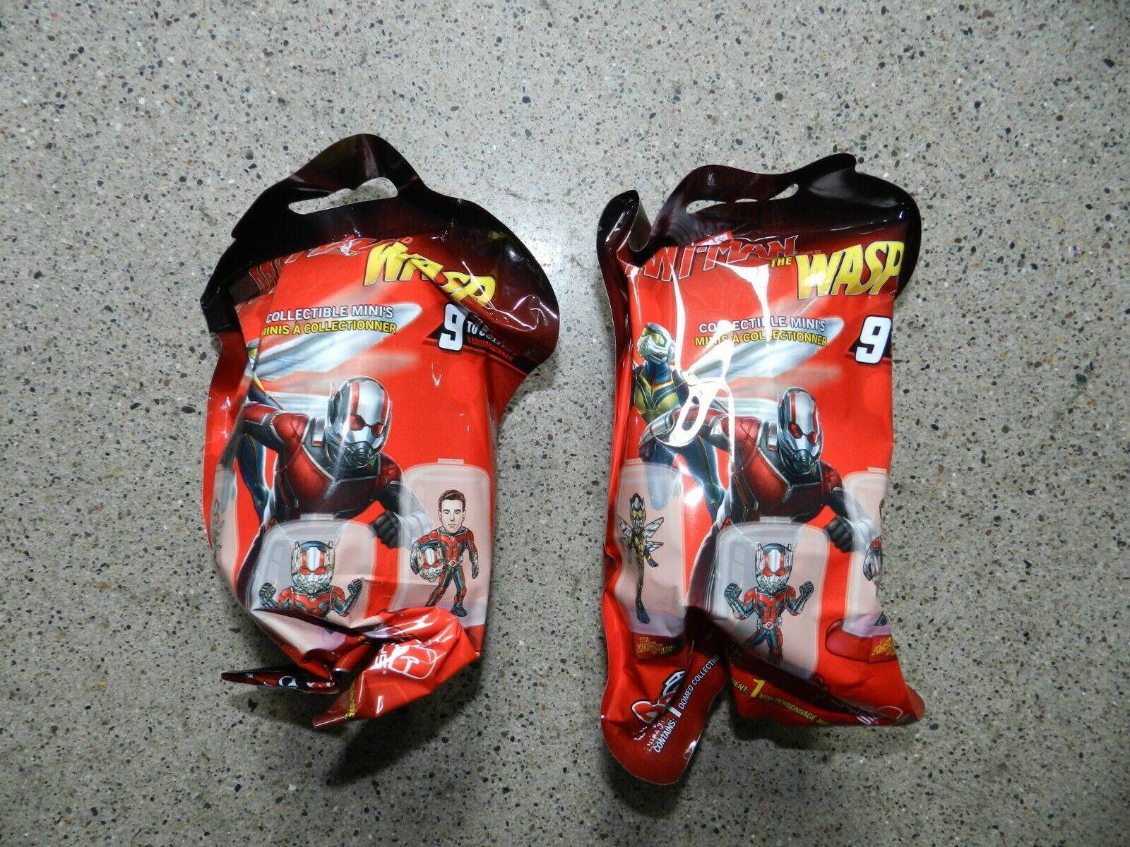 Marvel Ant-Man and The Wasp Mini Domez Series 1-2 Packs