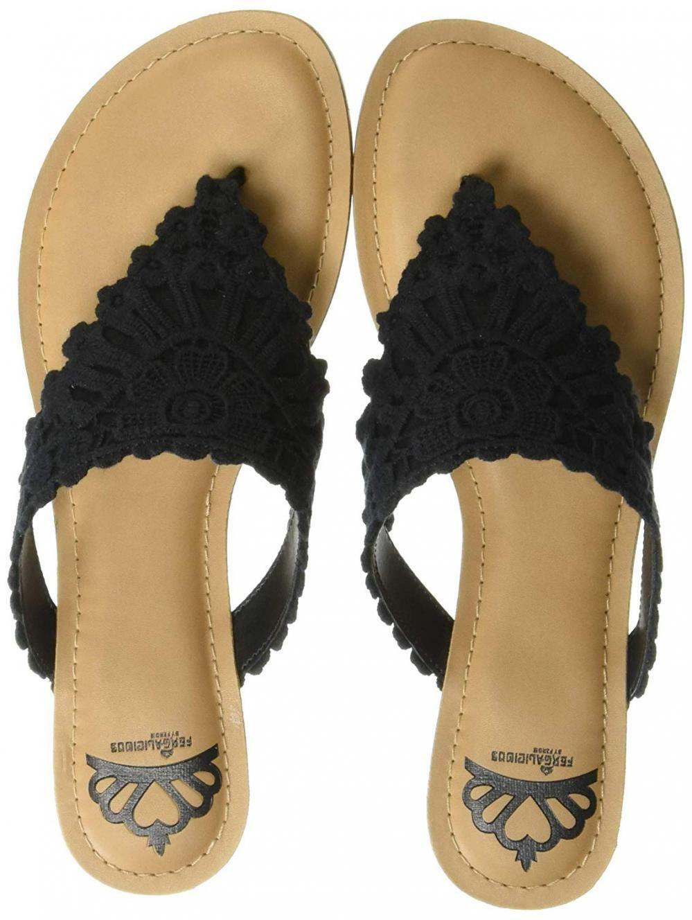 FERGALICIOUS Femme Samba Plat Sandale