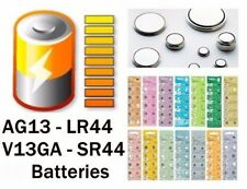 30 x  AG13 LR44 157 357 V13GA UHREN BATTERIE  BATTERY AG13