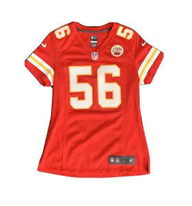 Youth Nike On Field NFL Kansas City Chiefs Derrick Johnson Jersey ...
