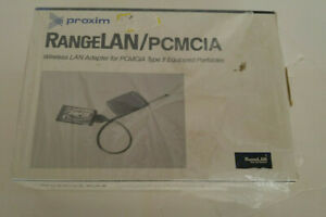 VINTAGE  PROXIM RANGE LAN/PCMCIA ADAPTER for Type II Portables 560153