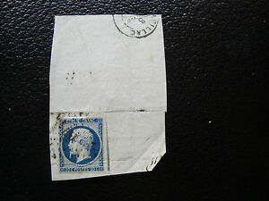 FRANCE-timbre-yvert-et-tellier-n-14Aa-obl-A6-stamp-french-A