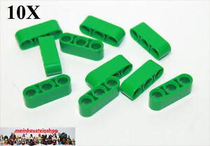 10X Lego® 32140 Technic dicke Liftarme Beams 2X4 Gelb Yellow NEU