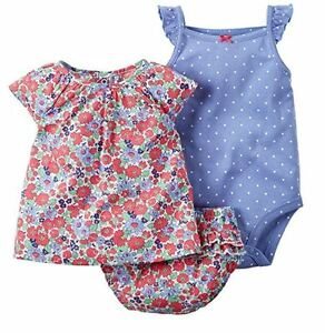 NEW-Carter-039-s-Baby-Girl-039-s-3-Piece-Diaper-Cover-Set-VARIETY